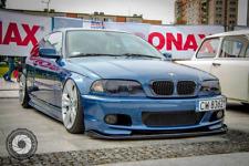 BMW 3 E46 M TECH M PAKET FRONT BUMPER SPOILER