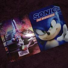 Birds Of Prey 4k Steelbook And Sonic The Hedgehog 4k Steelbook