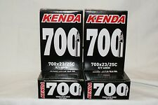 Kenda 700x23-25c presta 48mm valve road bicycle inner tube bike 4 pack