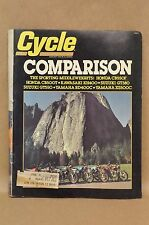 Vtg August 1976 Motor Cycle Magazine Honda CB550 CB500 Suzuki GT380 GT550 OW-27