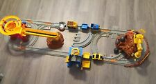 Fisher Price Geotrax Lift & Load and Mountain Blast Construction Railroad Train