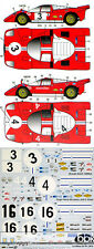 1/24 FERRARI 512S SCUDERIA FILIPINETTI #3 #4 #16 1970 DECAL for FUJIMI