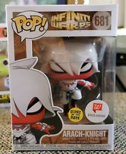 Funko Pop! Arach-Knight #681 Glow in Dark Walgreens Exc + Protector