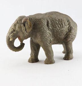 Massefigur Tierfigur Elefant Elefanten Lineol Elastolin Afrika Zoo