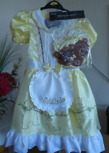 George-Goldilocks & the three bears fancy dress -age 7-8yr (122-128cm)-new-tags