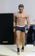 Phicen Chris Evans Flexible Seamless Male Muscular Body Steel Skeleton in stock