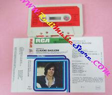 MC Personale di CLAUDIO BAGLIONI 1976 italy RCA LINEA TRE no cd lp vhs dvd ***