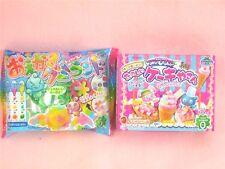 Kracie 2 Pieces Set Popin Cookin Cake shop Oekaki Gummy Land Japanese Candy Kit