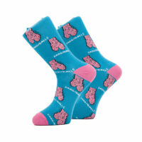Novelty Men's Socks Funny Rude Design Brilliant Birthday Valentines Gift Men Him