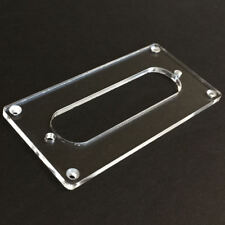 CONVERSION PICKUP MOUNTING RING Guitar Humbucker to Single Coil - CLEAR