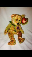 Ty Beanie Baby Bear Speckles MWT retired 2000
