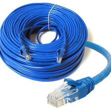 50m Meters Long RJ45 Cat 5e Network LAN Cable Ethernet Patch Lead Premium CAT5E
