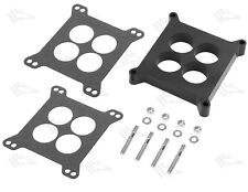 "1"" Phenolic Thermal Insulating Carb Spacer Kit - 4 Hole - Holley Edelbrock"