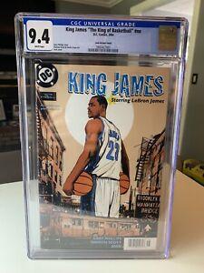 KING JAMES #1 DC COMICS 2004 LEBRON JAMES Powerade 1st Comic CGC 9.4 Low POP