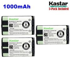 3xKastar Cordless Phone Battery NI-MH 3.6V 1000mAh For Panasonic HHR-P104 Type29