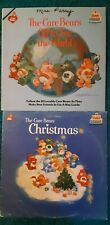 The Care Bears off to see the world and the Care Bears Christmas Records.