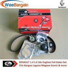 Renault Clio Kangoo Megane Ii Iii 1.4 1.6 16v timing/cam Cinturón Y Kit De Bomba De Agua