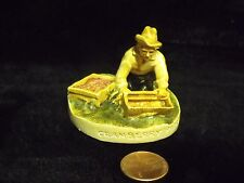 SEBASTION MINIATURES 'CRANBERRY PICKER', W/TAG,  COPR. 1950