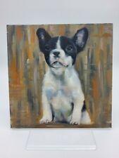 "°○•Original Ölbild,Ölgemälde,Oilpaint,Öl,Porträt,Portrait,Hund""Boston Terrier"""