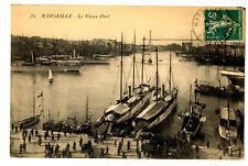 CPA 13 Bouche-du-Rhône Marseille le Vieux Port animé bateaux