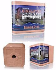 11 LB Compressed Himalayan Salt Animal Lick 100% Pure by Himalayan Secrets