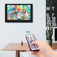 10 Zoll Digitaler Bilderrahmen 1280x800 LED Full-IPS-Display mit Bewegungssensor