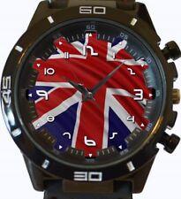 Flag Of Union Jack Of United Kingdom New Gt Series Sports Unisex Watch