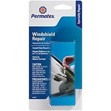 Permatex 16067 Bullseye Windshield Repair Kit, Crystal Clear Repair, Syringe