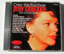JUDY GARLAND . OVER THE RAINBOW in CONCERT . CD