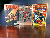 3 Comic Lot MARVEL TEAM-UP 103 2nd Appearance Task Master! ANT-MAN 1 Variant Lot