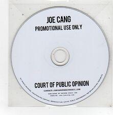 (FV431) Joe Cang, Court of Public Opinion - DJ CD