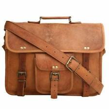 Soft dokota Genuine Vintage Leather Messenger Laptop Briefcase Satchel Women Bag