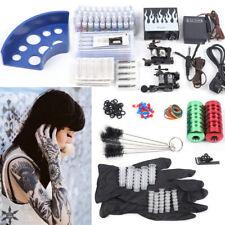 Kit completo de tatuar 2 Nuevo maquina & 40 tinta tattoo tatuaje ink Pedal Tubos