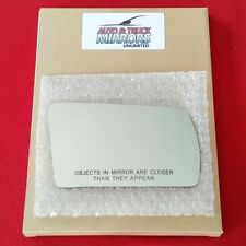 Mirror Glass + Adhesive For 81-98 Saab 900 Passenger Side Replacement