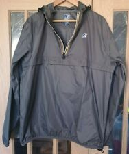K-Way Grey Men's Jacket XL - Le Vrai 3.0 Leon Pull Over Pac-A-Mac - Hardly Used