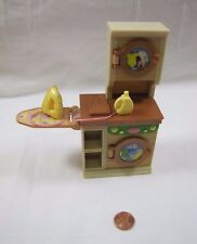 Fisher Price Loving Family Dollhouse Laundry Room Washer Dryer Iron Soap Rare!