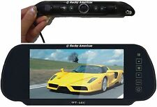 CCD LICENSE PLATE WIDE ANGLE 150 DEGREE REAR VIEW CAMERA MIRROR CLIP ON TFT LCD