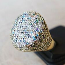 925 Sterling Silver Handmade Authentic Turkish Mix Ladies Ring Size 6-10
