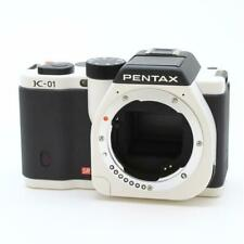 EXCELLENT!! PENTAX  K-01 BODY  BLACK and WHITE   A+++++