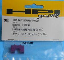 HPI 75108 PRO 4 Input Shaft Retainer Purple RC Part
