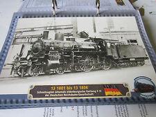 Lokarchiv Dampfloks 155 13 1801-13 1806 Oldenburgische S 3