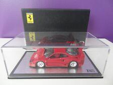 Ferrari F40 Rouge 1988 Redline 1/43 Ref : RL040 NEUVE NEW