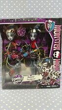 2013 Mattel Monster High Zombie Shake Meowlody & Purrsephone BJR16 NIB NRFB