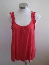 Ladies Red Jeanswest Top Size S