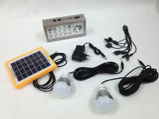 Portable M&H Solar Lighting System Home Office Use with LED Blubs Inverter
