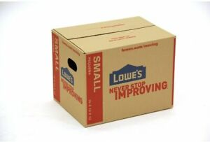 Lowe's Classic Small Heavy Duty Cardboard Moving Box 16-in x 12-in Pack of 5