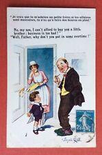 CPA. Donald MAC GILL. Acheter un petit Frère. Enfant. Père. Comique. N°3700