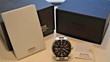 ORIS TT1 DIVERS SWISS AUTOMATIC STAINLESS STEEL WRISTWATCH MODEL 7533 BOX PAPERS