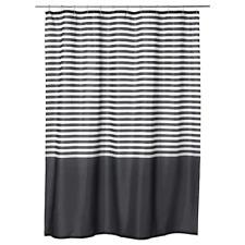 IKEA Shower Curtain Vadsjön Dark Grey 180x180 Cm Vadsjon