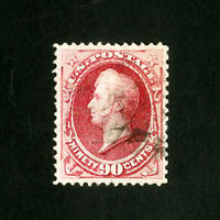 US Stamps # 155 Sup Blazing color neat cancel Scott Value $325.00